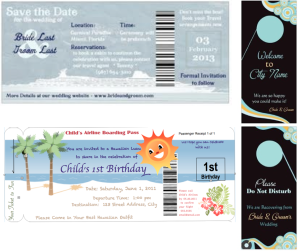rackcard invites