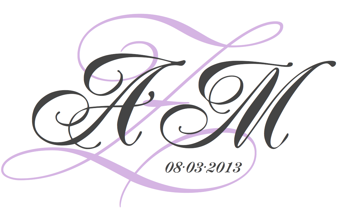 Free clip art hayley 39 s wedding tips 101 for Free monogram template