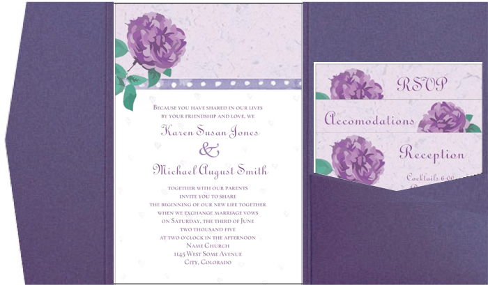 Vistaprint Invitations Wedding: Vistaprint And Pocketfold Envelopes