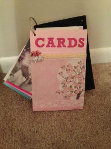 Photo and Card book by Desarae