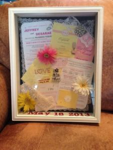 Photo and Shadow box by Desarae